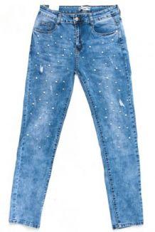 Арт.  YF 886 джинсы с декоративной вставкой 30-38 (синий) 340 грн. шт ce9e071d2ed38